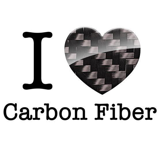 I love Carbon fiber t-shirt